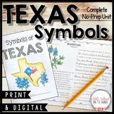 Texas Symbols No-Prep Unit