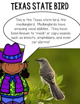 Texas Symbols--A Book for Your PK-2 Class