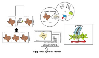 Texas Symbols Activities Pack (23pgs) English only Cscope common core