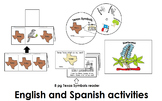 Texas Symbols Activities Pack (45pgs) Eng. & Spanish