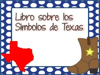 Texas Symbols Book (SPANISH)