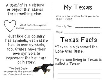 Texas Symbols Coloring Book by Resources to the Rescue | TpT