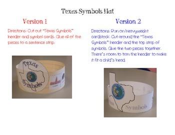 Texas Symbols Hat