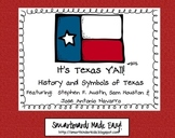 Texas Symbols & Jose Antonio Navarro, Houston, Austin - SMARTboard