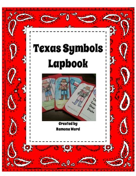 Texas Symbols Lap-Book