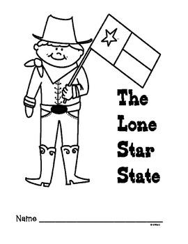 Texas Symbols Lap-Book