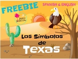 Texas Symbols - Los símbolos de Texas in Spanish & English