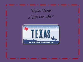 Texas Symbols Powerpoint in Spanish