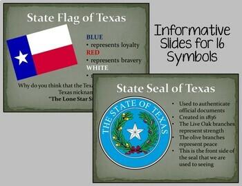 Texas Symbols Presentation