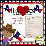 Texas Symbols Reader ~ I Love Texas! Interactive Flip Book and More