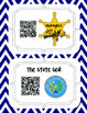 Texas Symbols Research QR Codes & Notebook