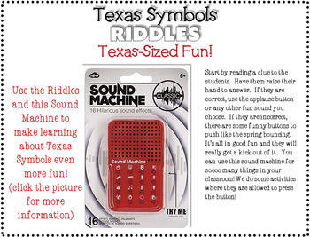 Texas Symbols Riddle Book