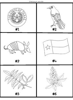 Texas Symbols Scavenger Hunt
