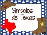 BUNDLE: Texas Symbols (Spanish)/ Símbolos de Texas