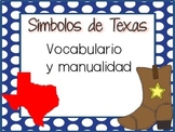 Texas Symbols Vocabulary and Craft (SPANISH)