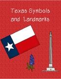 Texas Symbols and Landmarks Interactive Notebook Activity