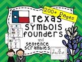 Texas State Symbols and Sentence Scramble (Plus Austin and
