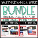 Texas Symbols and U.S.A. Symbols Digital Activities