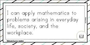 Texas TEKS 6th Grade Math I Can Statements