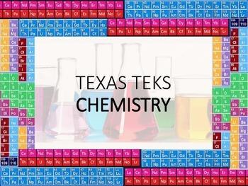 Texas TEKS Chemistry Periodic Border