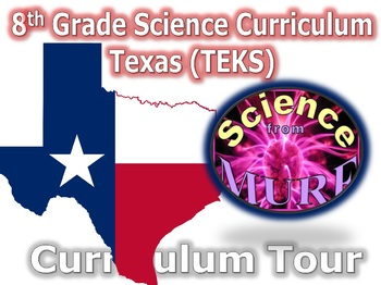 Texas TEKS Grade 8 Science Curriculum Information