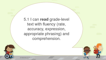 Texas TEKs 5th Grade Reading with Scaffold Expectations
