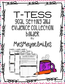 Texas TTESS Evidence Tracking Binder