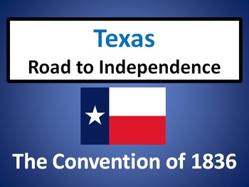 Texas: The Convention of 1836