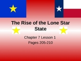 Texas-The rise of the lone star state- 4th Grade TEKS