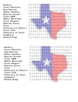 Texas Thematic Unit