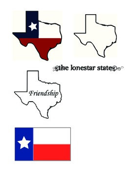 Texas Themed Clip Art