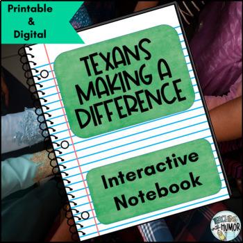 Texas Today INTERACTIVE NOTEBOOK