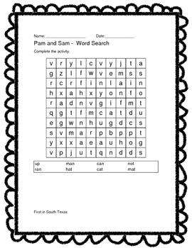 Texas Treasure Spelling Unit 1 Sample