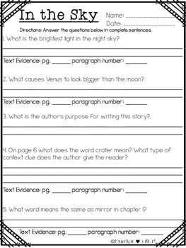 Texas Treasures 3rd Grade Level Readers STAAR Style Questions (TEKS Alinged)
