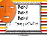 Texas Treasures First Grade Masks! Masks! Masks! 3.3 {12 Literacy Activities}