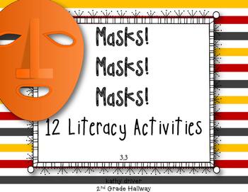 Texas Treasures First Grade Masks! Masks! Masks! 3.3 {12 L