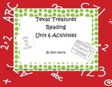 Texas Treasures First Grade Unit 6 Reading and Spelling Activities