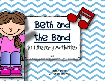 Texas Treasures Grade 1 Beth and the Band 2.5 {10 Literacy
