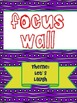 Texas Treasures Grade 1 Focus Wall Unit 3 Weeks 1-5