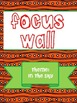 Texas Treasures Grade 1 Focus Wall Unit 5 Weeks 1-5