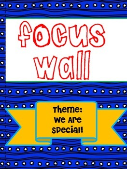 Texas Treasures Grade 1 Focus Walls Units 1-6