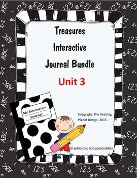 Texas Treasures Interactive Journal Unit 3 Bundle