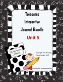 Texas Treasures Interactive Journal Unit 5 Bundle