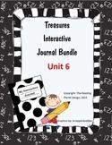 Texas Treasures Interactive Journals Unit 6 Bundle