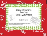 Texas Treasures Unit 1 Spelling and Sight Word Activities