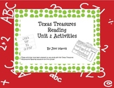 Texas Treasures Unit 2 Spelling and Sight Word Activities