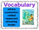 Texas Treasures Vocabulary Activities for Doña Flor