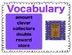 Texas Treasures Vocabulary Activities for One Grain of Rice