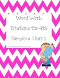 Texas Treasures Word Work Unit 1