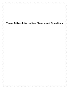 Texas Tribes Unit